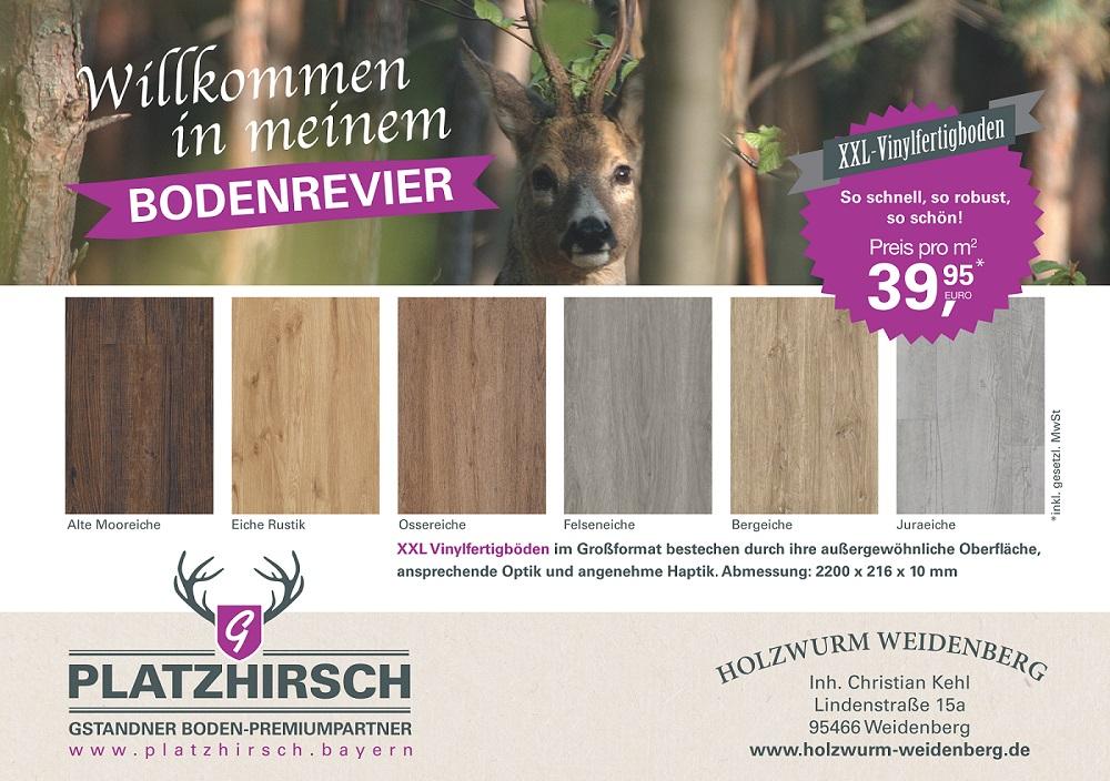 Anzeigenvorlage GHZ_Vinyl XXL_A5 quer_HOLZWURM WEIDENBERG_01